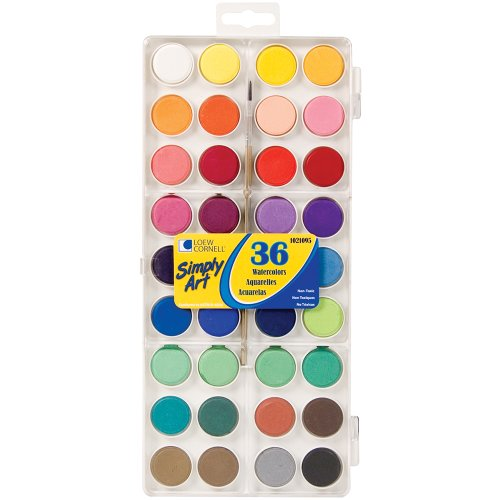 Loew Cornell 1021095 Simply Art Watercolor Cakes