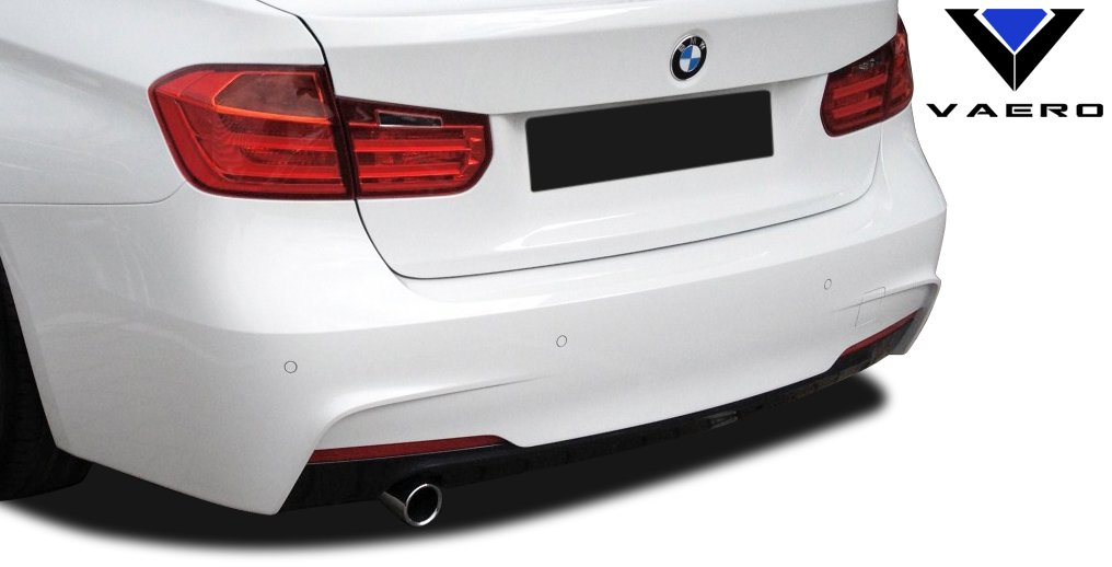 2012-2015 BMW 3 Series 320i F30 Vaero M Sport Look Rear Bumper Cover ( with PDC ) - 2 Piece
