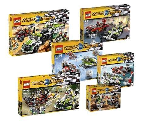 LEGO World Racers 8863 8864 8896 8897 8898 8899 Super Set Cheap LEGO ...