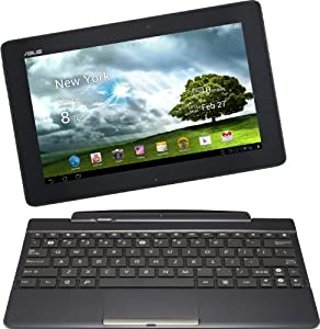 Asus Transformer Pad TF300TG 25,7 cm (10,1 Zoll) Convertible Tablet-PC (NVIDIA Tegra 3, 1,2GHz, 1GB RAM, 16GB HDD, NVIDIA 12 GeForce, Touchscreen, Android OS, UMTS) inkl. Keydock schwarz