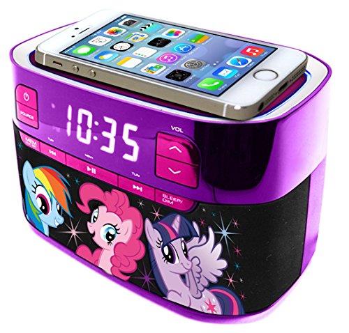 My Little Pony Molded Bluetooth Radio with Clock