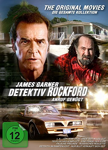 Detektiv Rockford - Die Filme - Komplettbox [8 DVDs]