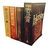 The Matthew Shardlake Series Collection C. J. Sansom 4 Books Set (Dominion, Heartstone, Sovereign, Dark Fire) C. J. Sansom