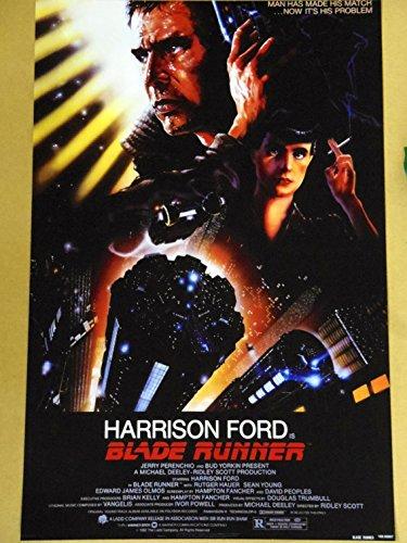 小ポスター「ブレード・ランナー」ハリソン・フォード