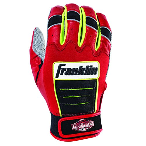 Franklin Sports 2015 Limited Edition MLB All-Star Game CFX Pro Batting Gloves, Adult Medium (2015 All Star Game compare prices)