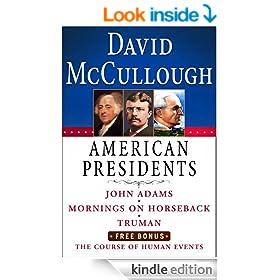 David McCullough American Presidents E-Book Box Set: John Adams, Mornings on Horseback, Truman, The Course of Human Events