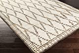 Surya SCR5137-3353 Scarborough Hand Knotted Natural Fiber Accent Rug, 3-Feet 3-Inch by 5-Feet 3-Inch