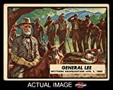 1965 A and BC England Civil War News # 39 General Lee (Card) Dean's Cards 3 - VG 2026069