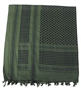 MFH SHEMAGH SCARF GREEN & BLACK AIRSOFT SNIPER SHEMAGH