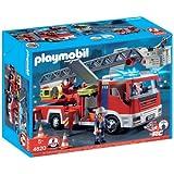 Playmobil - 4820 - Jeu de construction - Camion de pompiers grande �chellepar Playmobil