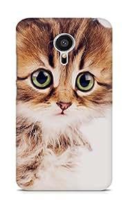 Amez designer printed 3d premium high quality back case cover for Meizu MX5 (Sad kitten cat animal nature cute)