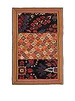 QURAMA Alfombra Persian Classic Patchwork Rojo/Multicolor 156 x 100 cm