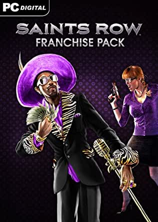 Saints Row Franchise Pack [Online Game Code]