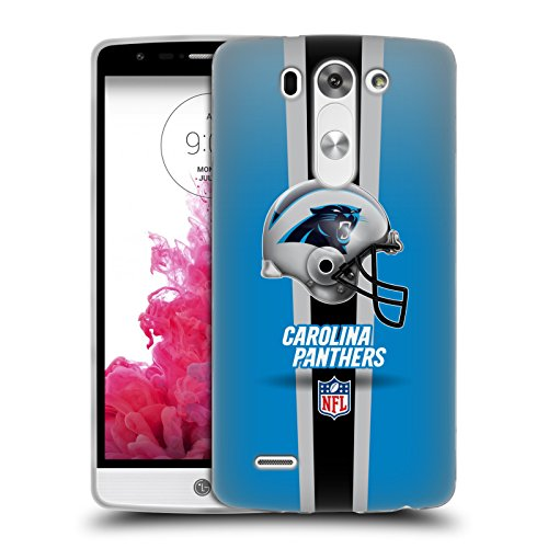 Official NFL Helmet Carolina Panthers Logo Soft Gel Case for LG G3 S / G3 Beat / G3 Vigor (Lg G3 S D722 Case compare prices)