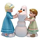 Westland Giftware Ceramic Salt & Pepper Shaker Set Disney Frozen Do You Want To Build a Snowman?