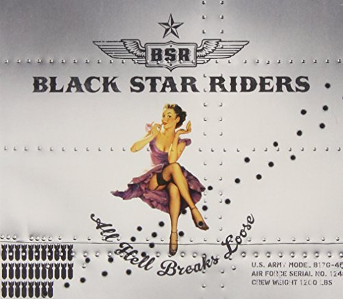 All Hell Breaks Loose CD DVD Deluxe by Black Star Riders (2013-05-28)