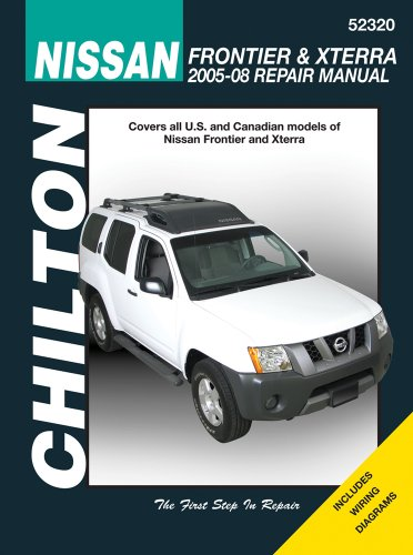 chiltons-nissan-frontier-xterra-2005-08-repair-manual