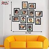 Ajanta Royal Classic set of 12 Individual Photo Frames (12-6x8 Inch) - WPC-16