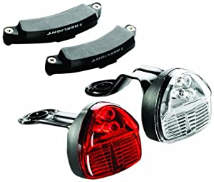 Reelight SL120 Flashing Compact Bicycle Headlight and Tail Light Set by Reelight