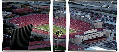 College Football Stadiums Xbox 360 Slim (2010) Vinyl Decal Sticker Skin by Compass Litho by Compass Litho (Ncaa Football 2010 compare prices)