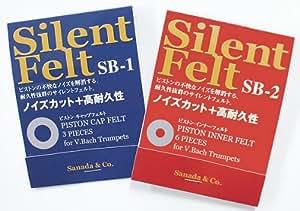 Silent Felt SB-1/SB-2セット Vincent Bach トランペット用