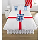 England St Georges Football DOUBLE Quilt/Duvet Bedding Set