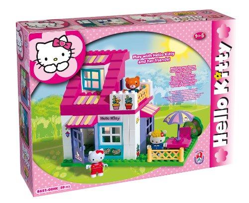 COSTRUZIONE Unico Hello Kitty-Piccola Casa 59pz 8651