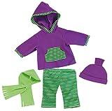 Bayer Design 83844 - Kleidung für Puppen - Kapuzenshirt,...