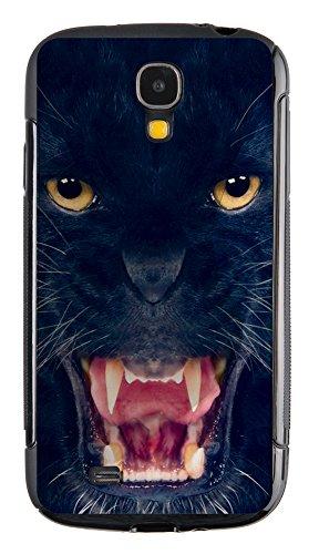 """Silicon Silikon Handy Back Case """"Black Panther"""" für Samsung Galaxy S4 i9500 Handy Tasche Schale Cover Schutz Hülle Bumper Etui"""