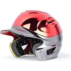 Under Armour Chrome 2-Tone Youth Baseball Batting Helmet by Ampac Enterprises, Inc (Under)