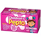 Children's Pepto Chewable Tablets - 24 CT