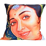 MeSleep Digitally Printed All Time Vivid Cushion Cover - Multicolor