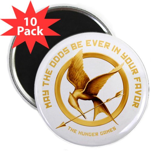Hunger Games Mockingjay 2.25 Magnet 10 pack by CafePress