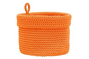 Amazon.com: Heritage Lace Mode Crochet Round Basket with
