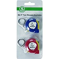 Tape Measure Keychain - Smart Savers-2PC TAPE MEASURE KEYRING