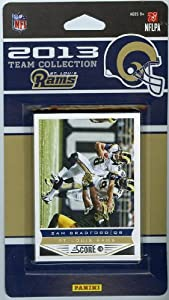 St. Louis Rams 2013 Score NFL Football Limited Edition Factory Sealed 10 Card... by Panini