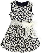 XTX Baby Girl Popular Small Flowers Sleeveless Dress Sun Skirt