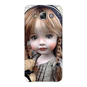 Enticing Girl Angel Multicolor Back Case Cover for Galaxy E7