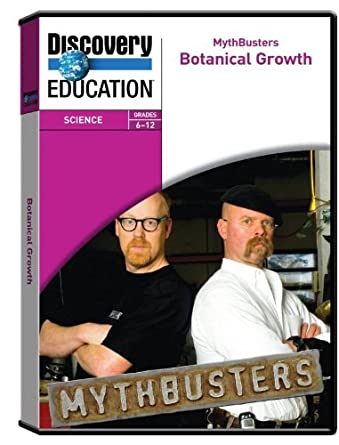 Discovery Education Mythbusters: Botanical Growth DVD