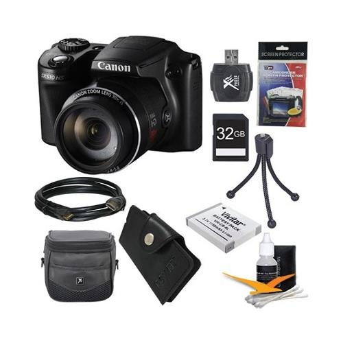 Find Cheap Canon PowerShot SX510 HS 12.1 MP CMOS Digital Camera with 30x Optical Zoom and 1080p Full...