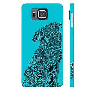 Samsung Alpha G850F Dog Tattoo designer mobile hard shell case by Enthopia