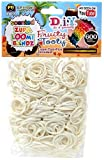 D.I.Y. Do it Yourself Bracelet Zupa Loomi Bandz 600 Fruity Tooty White Coconut Scented Rubber Bands with S Clips