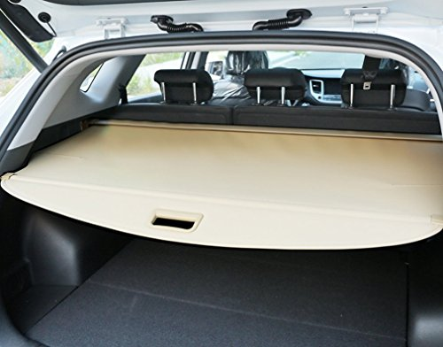 E-cowlboy Beige Rear Trunk Cargo Cover Security Shield for Nissan Rogue X-trail 2014 2015 2016 (Cargo Shade Nissan 2014 compare prices)
