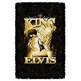Elvis Presley - TCB The King - Woven Throw Blanket Tapestry