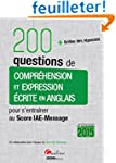 200 questions de compr�hension et exp...