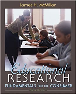 educational research fundamentals for the consumer 5th edition paperback Editions for educational research: fundamentals for the consumer: 0205508308 (paperback published in 2007), 0132596474 (paperback published in 2011), 10.