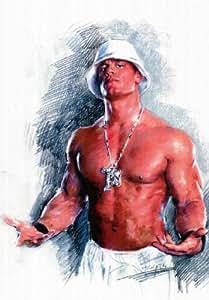 (11x17) John Cena WORD LIFE WWF WWE WCW Wrestling POSTER Print
