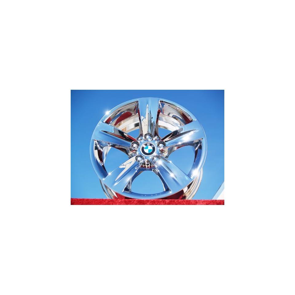 BMW 335i SportStyle 189 Set of 4 genuine factory 18inch chrome wheels