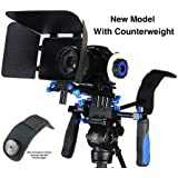 Fancierstudio DSLR RIG With Follow Focus Matte Box And Counterweight By New Model Fancierstudio FL02M