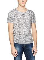 Guess Camiseta Manga Corta Knit (Gris Claro)